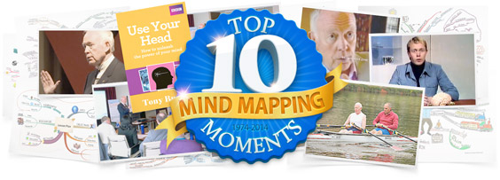 ThinkBuzan's Top 10 Mind Mapping Moments