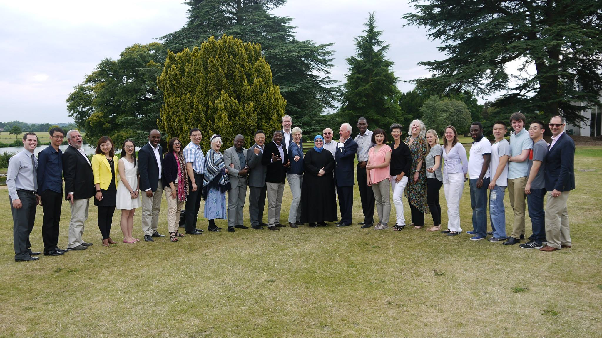 Course Delegates with Tony Buzan