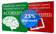 25% discount on courses
